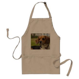 Perro de perrito lindo del beagle delantal