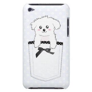 Perro de perrito lindo del bolsillo iPod touch funda