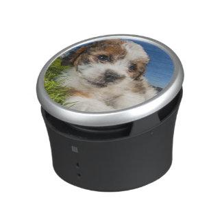 Perro de perrito lindo (Shitzu) Altavoz Con Bluetooth