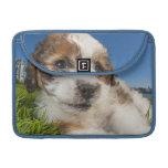 Perro de perrito lindo (Shitzu) Fundas Para Macbook Pro