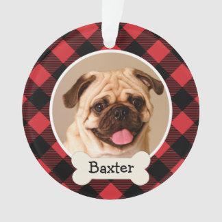 Perro de perrito personalizado el | del ornamento