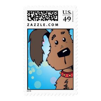 Perro de perrito sellos