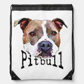 Perro de Pitbull Mochila