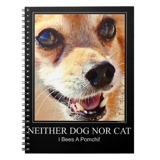 Perro de Pomchi Notebook