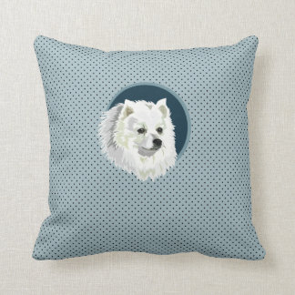 Perro de Pomerania del japonés del perro Cojín