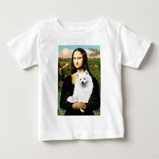 Perro de Pomerania esquimal 1 - Mona Lisa Camisetas