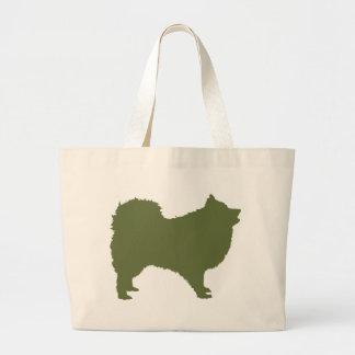 Perro de Pomerania japonés Bolsa Tela Grande