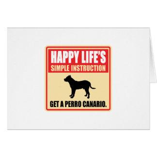 Perro de Presa Canario Greeting Card