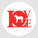 Perro de Presa Canario Round Sticker