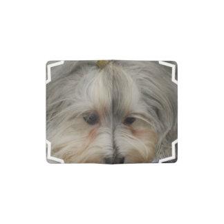 Perro de reclinación de Havanese Funda Para Libreta Y Libreta Pequeña Moleskine