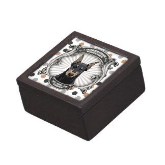 Perro de regalos bien escogidos cajas de joyas de calidad