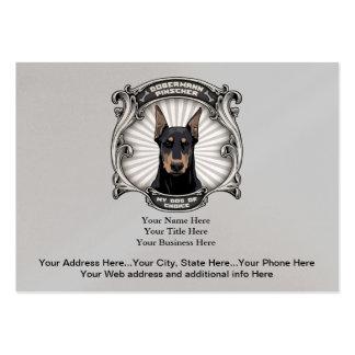 Perro de regalos bien escogidos tarjetas de visita grandes