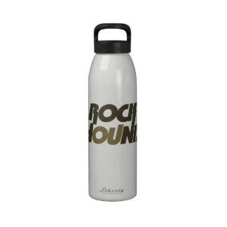 Perro de roca botellas de agua reutilizables