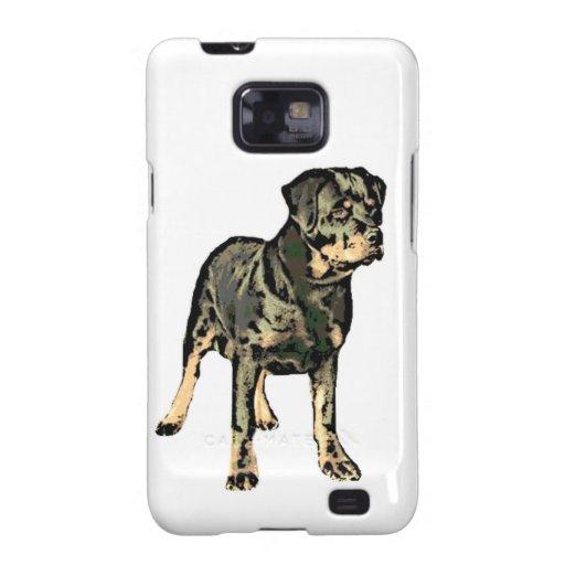 Perro de Rottweiler Galaxy SII Carcasa