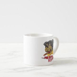 Perro de Rottweiler - perro del insulto de Triumph Taza De Espresso