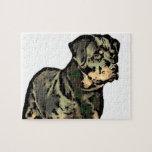 Perro de Rottweiler Puzzle