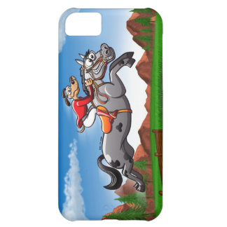 Perro de salto ecuestre carcasa iPhone 5C