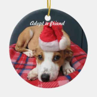 Perro de Santa Ornamento Para Reyes Magos