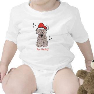 Perro de Sharpei del navidad Traje De Bebé