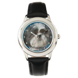 Perro de Shih Tzu Reloj