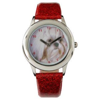 Perro de Shih Tzu Relojes De Pulsera