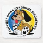 Perro de Síndrome de Down Alfombrillas De Ratón