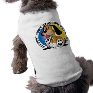 Perro de Síndrome de Down Camisetas De Perro