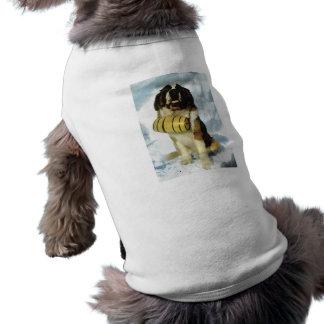 Perro de St Bernard, rescate de la montaña Camiseta De Perrito
