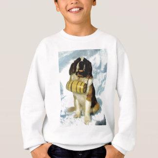 Perro de St Bernard, rescate de la montaña Sudadera