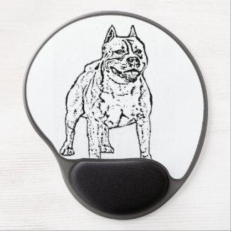 Perro de Staffordshire Terrier americano Alfombrilla Gel