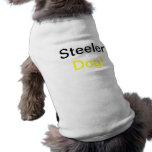 ¡Perro de Steeler! Camisetas De Mascota