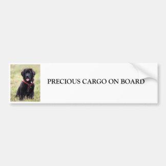 Perro de Terranova a bordo pegatina para el parach Pegatina Para Auto