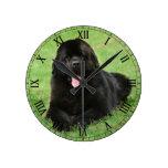 Perro de Terranova Reloj