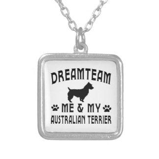 Perro de Terrier australiano Colgante Personalizado
