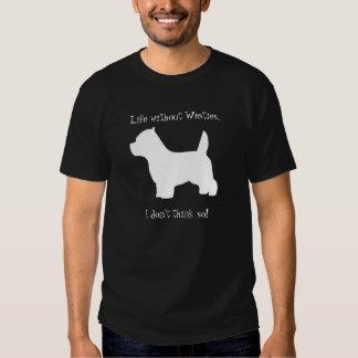 Perro de Terrier blanco de montaña del oeste, Playera