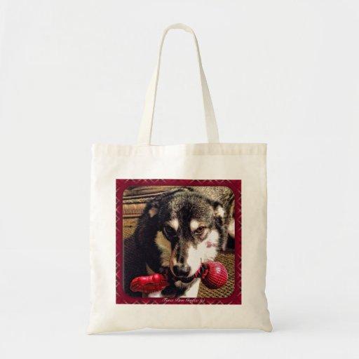 Perro de trineo - cáigalo, no una opción bolsas de mano