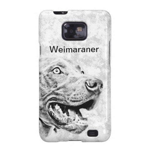 Perro de Weimaraner Galaxy SII Carcasa