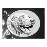 Perro de Weimaraner Invitación 12,7 X 17,8 Cm