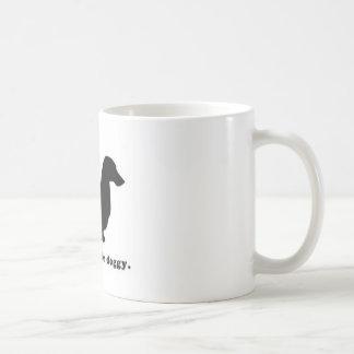 Perro de Weiner del Dachshund Tazas De Café