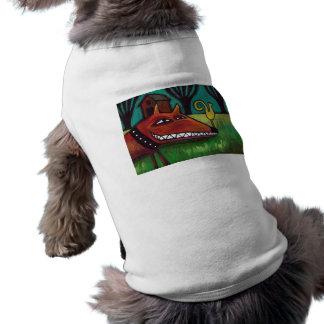 Perro de yarda Camiseta Camisetas Mascota