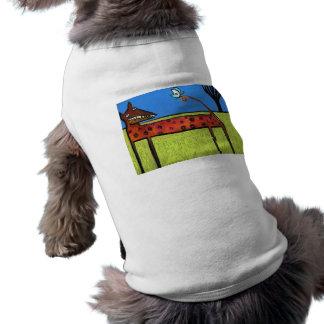 Perro de yarda Camiseta Camiseta De Perro