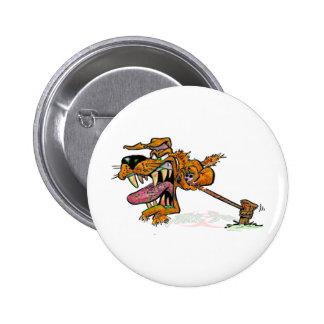 Perro de yarda tóxico pin