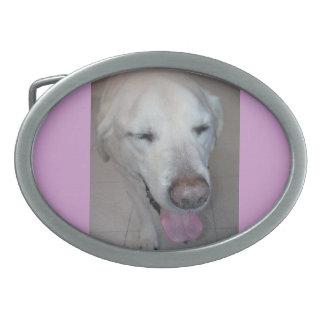 Perro de Yo Hebilla Cinturon Oval