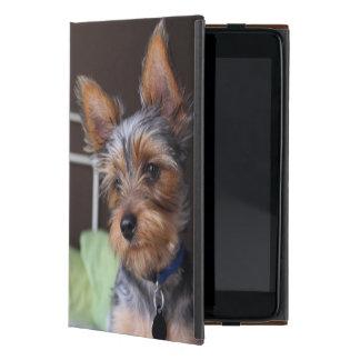 Perro de Yorkshire Terrier, caso lindo del ipad de iPad Mini Fundas