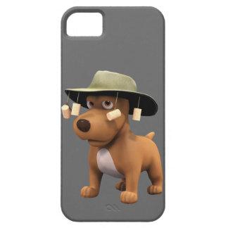 perro del australiano 3d iPhone 5 cobertura