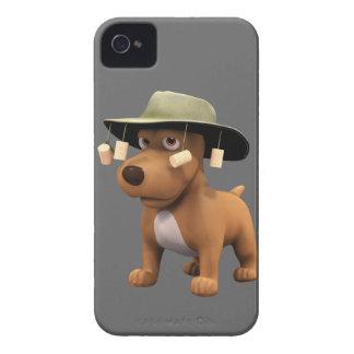 perro del australiano 3d iPhone 4 carcasas