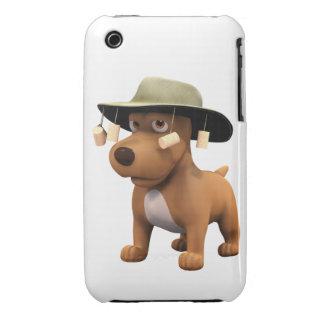perro del australiano 3d Case-Mate iPhone 3 cárcasas