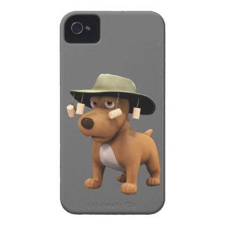 perro del australiano 3d iPhone 4 Case-Mate carcasas