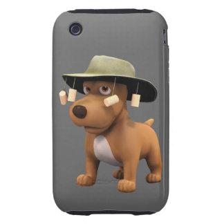 perro del australiano 3d tough iPhone 3 carcasas