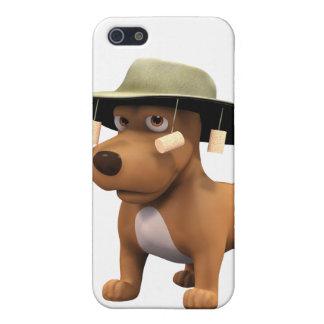 perro del australiano 3d iPhone 5 carcasas